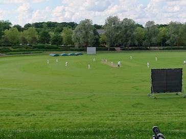 Cricket at Campbell Park Pavillion