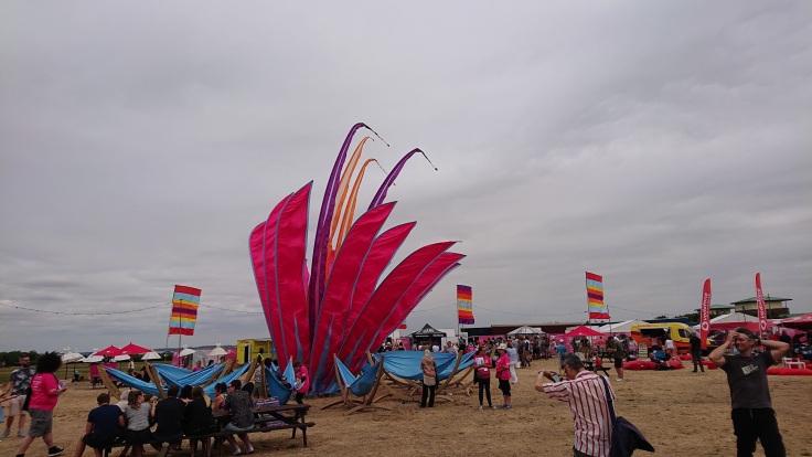 Banners at Milton Keynes International Festival
