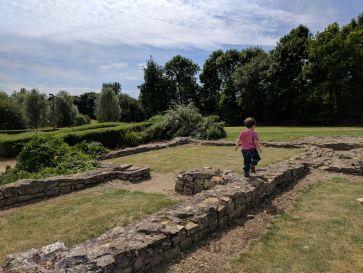 Bancroft Roman Ruins
